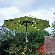 2.7m Solar LED Parasol