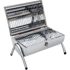 50cm Portable Barrel Barbecue