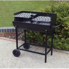 Half Drum Barrel Barbecue