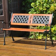 Garden 2 Seater Wooden Park Bench
