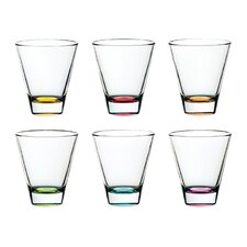 Confetti Double Old Fashioned Glass (Set of 6)