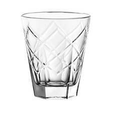 Marquise Double Old Fashioned Glass (Set of 6)