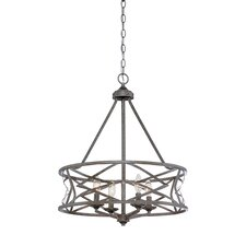 Lakewood 4 Light Drum Chandelier
