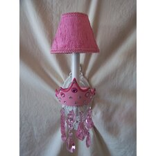 Glamour Girl Crowns 1 Light Wall Sconce
