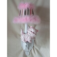 Prissy Kitty 1 Light Wall Sconce