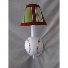 All Star Sports Baseball 1 Light Wall Sconce