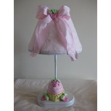 """Yummy Cupcakes 16"""" H Table Lamp with Empire Shade"""