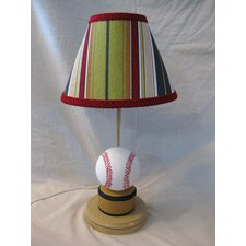 "All Star Baseball 16"" H Table Lamp with Empire Shade"