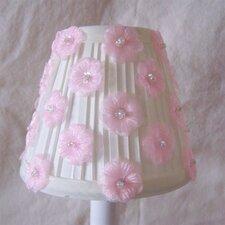 "5"" Flower Girl Fabric Empire Candelabra Shade"