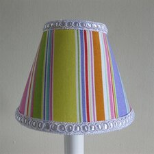 """5"""" Sweet Candy Stripes Fabric Empire Candelabra Shade"""