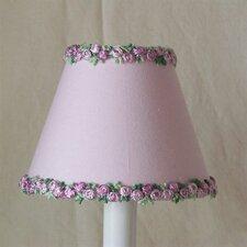 "5"" Love of Lavender Fabric Empire Candelabra Shade"