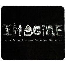 "Lyric Culture ""Imagine"" Double-Sided Throw"