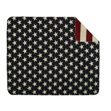 Stars and Stripes Double-Sided Throw