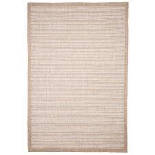 Casual Stripe Beige Indoor/Outdoor Area Rug