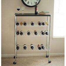 27 Bottle Floor Wine Rack
