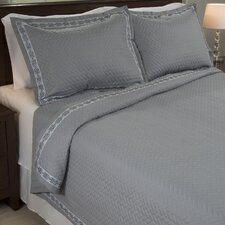 Valencia Embroidered Quilt Set