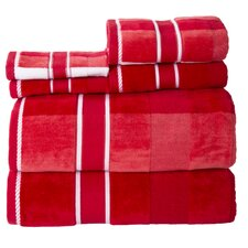 Oakville 100% Cotton 6 Piece Towel Set