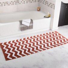 Chevron Cotton Bath Mat