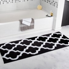 Trellis Cotton Bath Mat