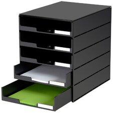 Schubladenbox Styroval Usm mit 5 Schubladen