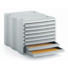 Schubladenbox Styrowave mit 8 Schubladen