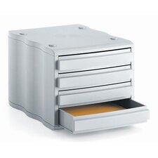 Schubladenbox Styrowave mit 4 Schubladen