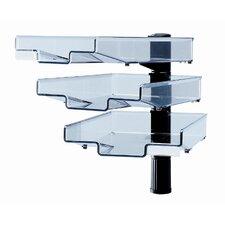 Swivel with 3 trays