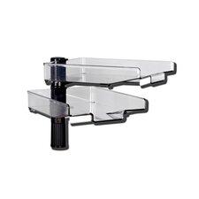 Swivel with 2 trays