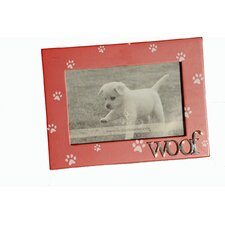 """Woof""  Picture Frame"