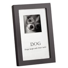 "Home ""Dogs Laugh with Their Tails"" Picture Frame (Set of 5)"