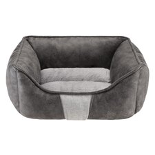Jackson Rectangular Cuddler Bolster Dog Bed