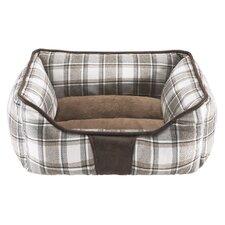 Bex Rectangular Cuddler Bolster Dog Bed