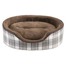 Cody Oval Cuddler Bolster Dog Bed