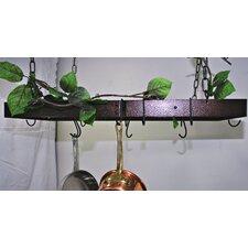 Gourmet Hanging Pot Rack