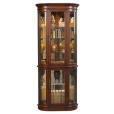 Hamilton Corner Curio Cabinet