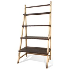 "71"" Leaning Bookcase"