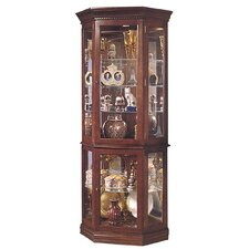 Lorraine Corner Curio Cabinet