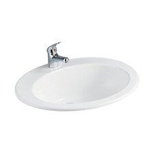 Jessica 53cm Semi Recessed Basin
