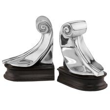 Feather Book Ends (Set of 2)