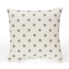 Heaven Sent Dot Cotton Throw Pillow