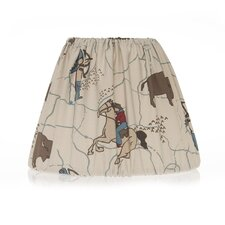 "12"" Happy Trails Empire Lamp Shade"