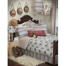 Happy Trails Reversible Duvet Collection
