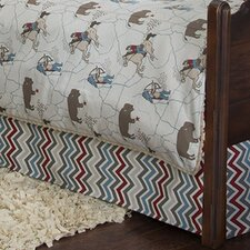 Happy Trails Bed Skirt