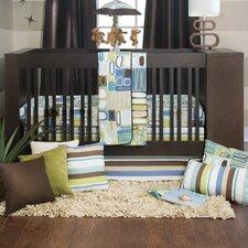 Liam 3 Piece Crib Bedding Set