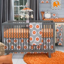Rhythm 3 Piece Crib Bedding Set