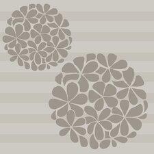 2 Piece Flower Balls Vinyl Wall Decal