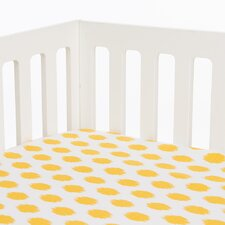 Swizzle Fitted Crib Sheet