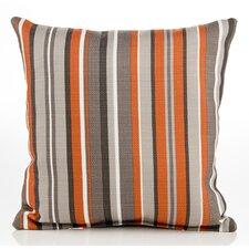 Echo Stripe Cotton Throw Pillow