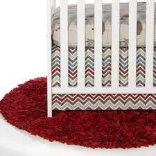 Happy Trails 2 Piece Crib Bedding Set