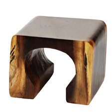 Natural Teak Arch End Table